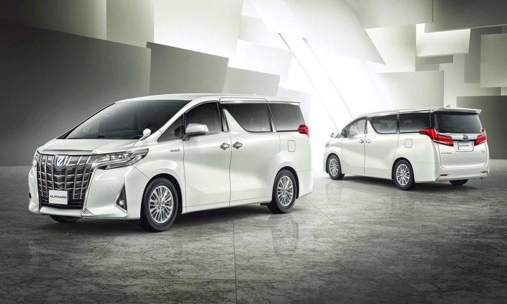 2018 Toyota Alphard And Vellfire Revealed Autodevot