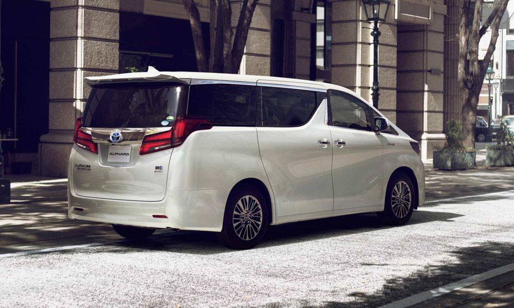 Toyota V6 Engine For Sale >> 2018 Toyota Alphard and Vellfire revealed - Autodevot