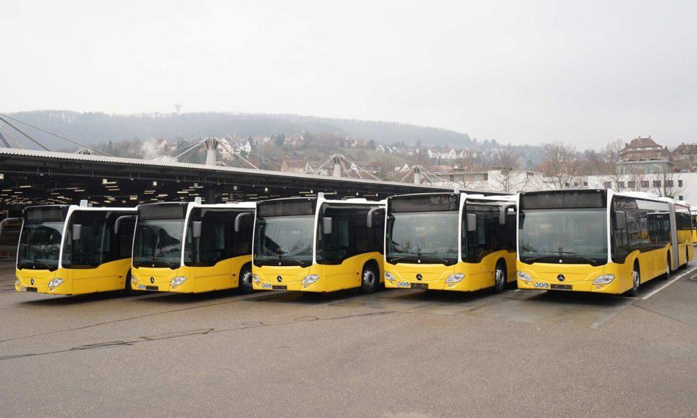 Mercedes benz citaro g hybrid buses ready for public for Mercedes benz service g