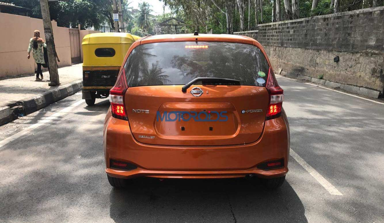 Nissan-Note-e-Power-Spotted-testing-In-India