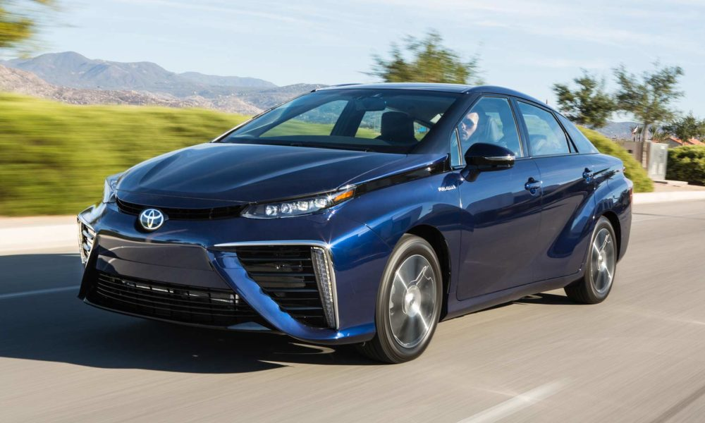 Toyota Mirai Fuel Cell X on Toyota Prius Hybrid Battery Cell