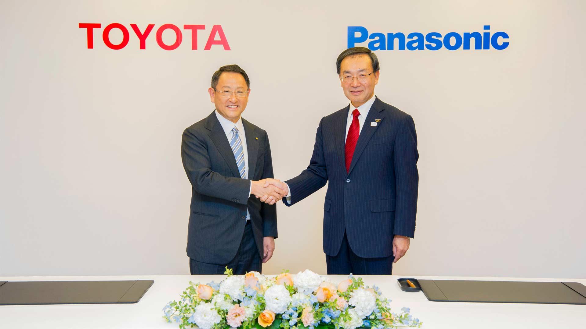 Toyota-Panasonic-Prismatic-battery
