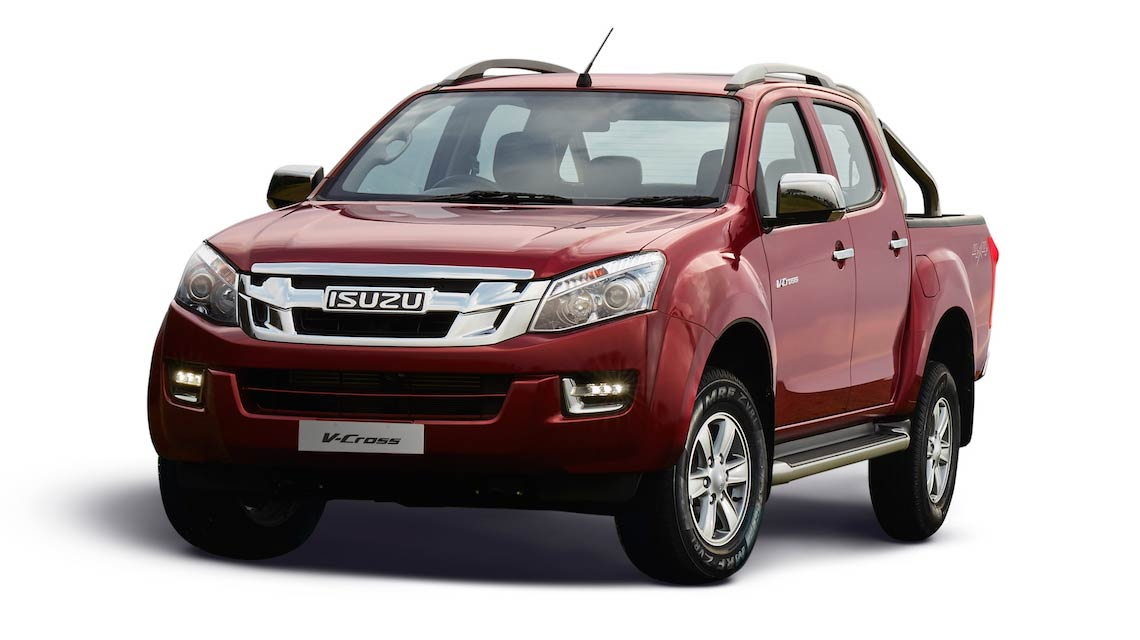 2018 isuzu d max v cross launched at rs lakh autodevot. Black Bedroom Furniture Sets. Home Design Ideas