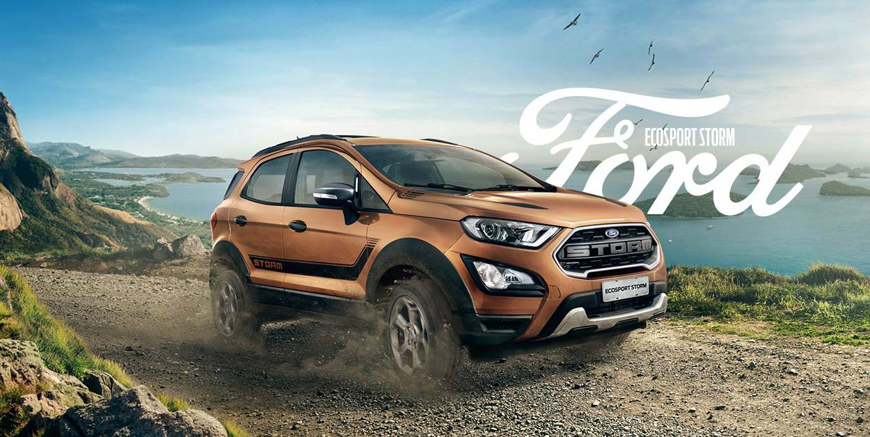 Ford Ecosport Storm 4wd Launched In Brazil Autodevot