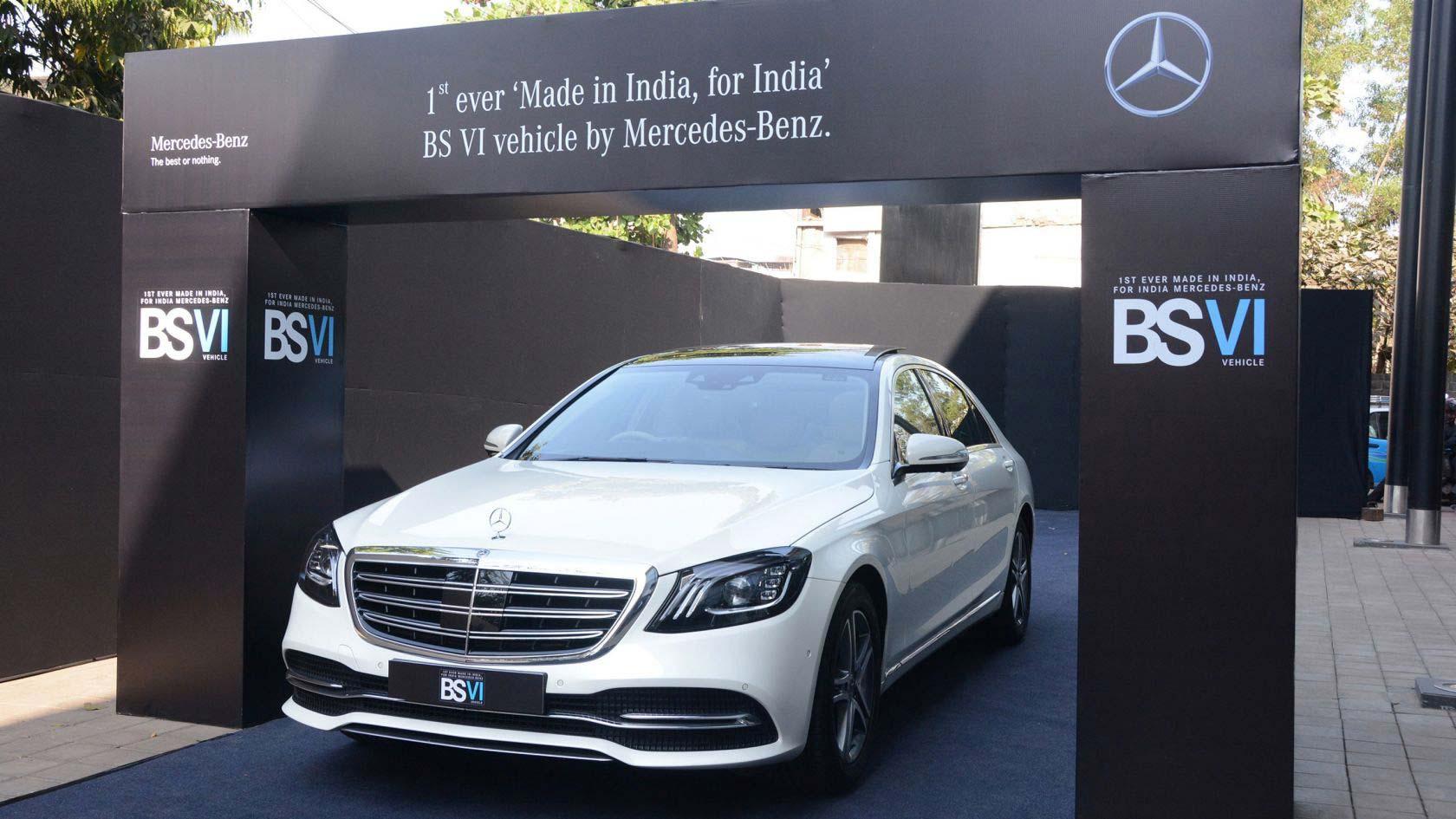 Mercedes-Benz-India-BS-VI-Vehicle-S-350-d