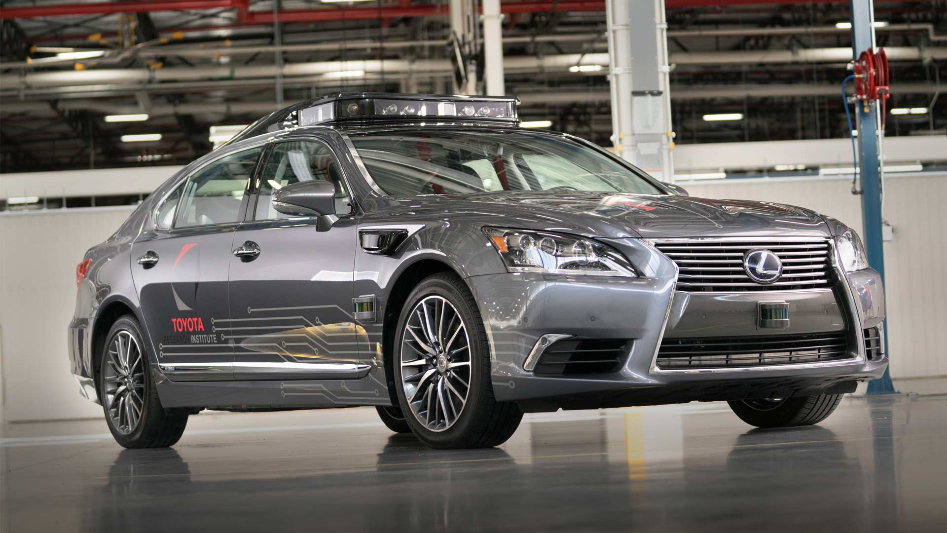 Toyota-Research-Institute-Platform-3.0-automated driving-Lexus-LS-600hL