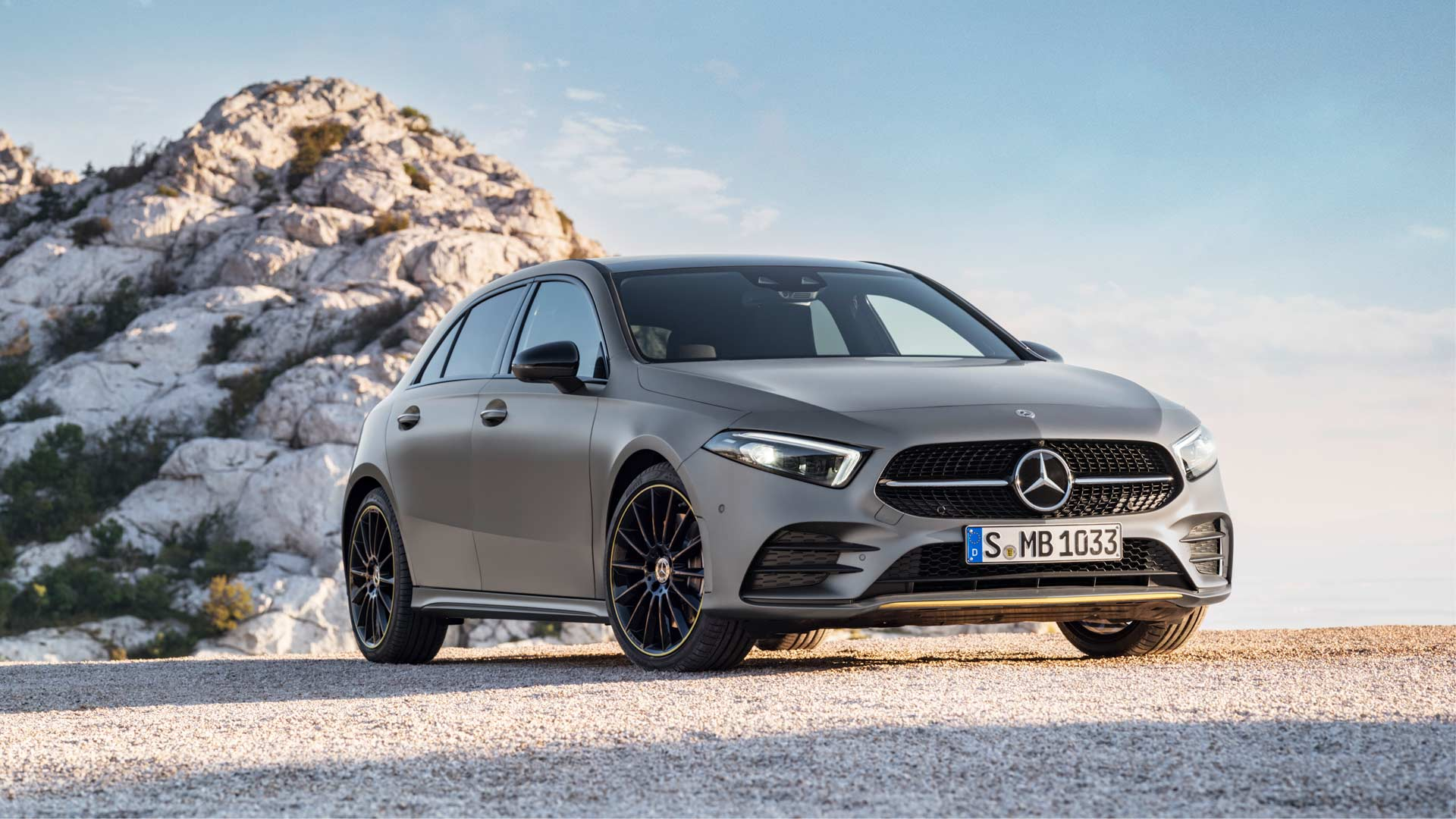 2018 4th generation Mercedes-Benz A-Class Edition 1