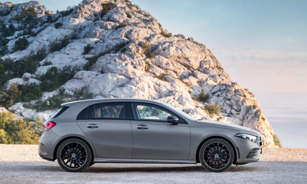 2018 4th generation Mercedes-Benz A-Class Edition 1_2
