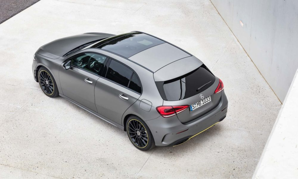 2018 4th generation Mercedes-Benz A-Class Edition 1_3