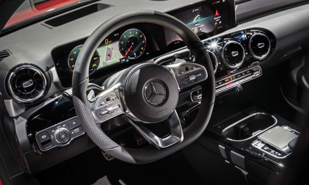 2018 4th generation Mercedes-Benz A-Class Interior