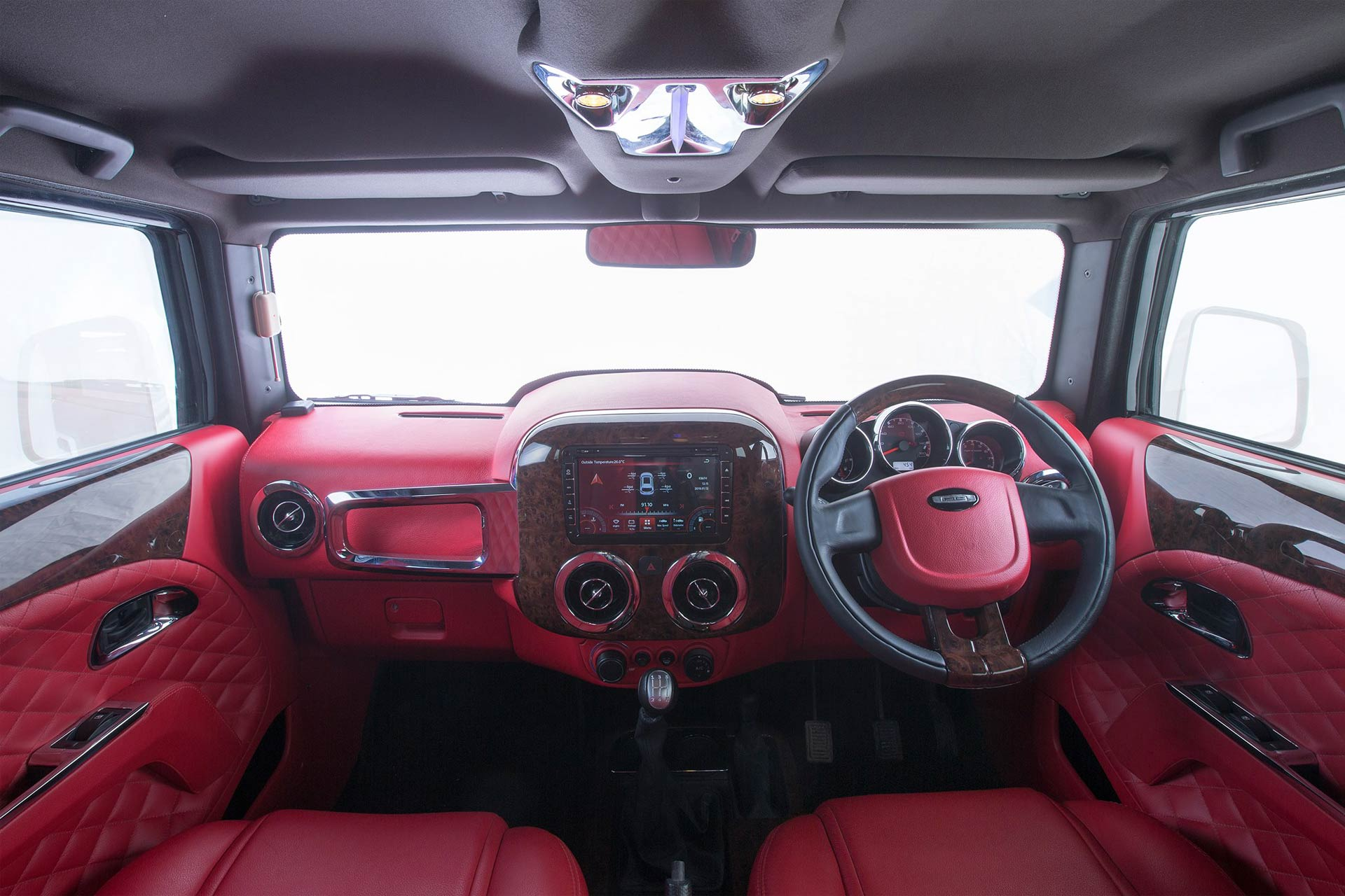 dc interiors dc modified mahindra thar full interior exterior DC-Design-Hammer-Mahindra-Thar-Interior