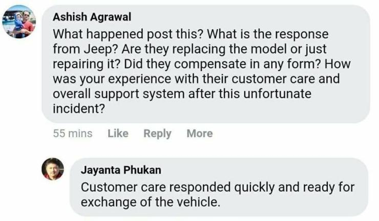 Jeep-Compass-Suspension-Failure-India-Resolved