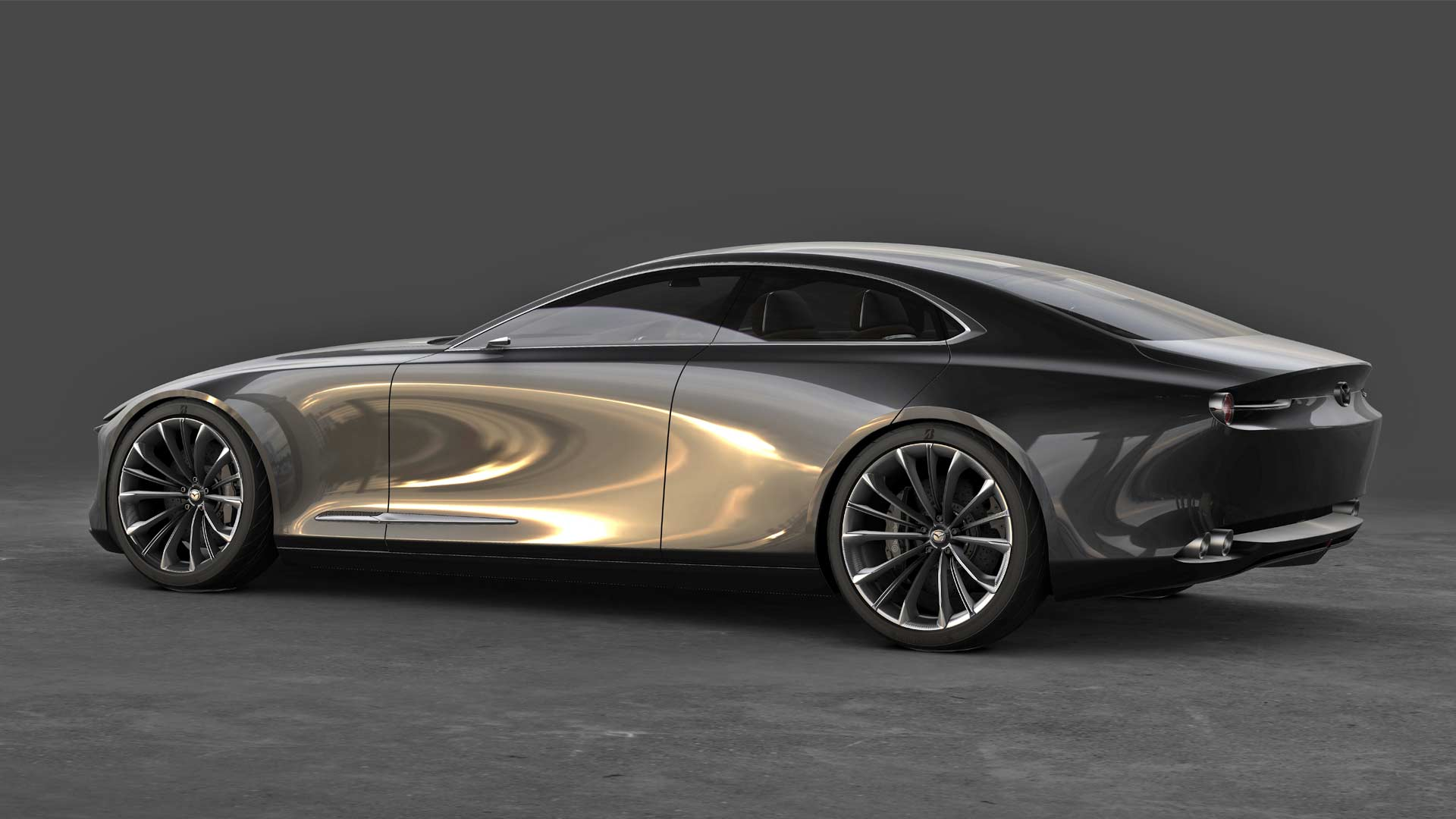 mazda vision coupe named the most beautiful concept car of the year autodevot. Black Bedroom Furniture Sets. Home Design Ideas