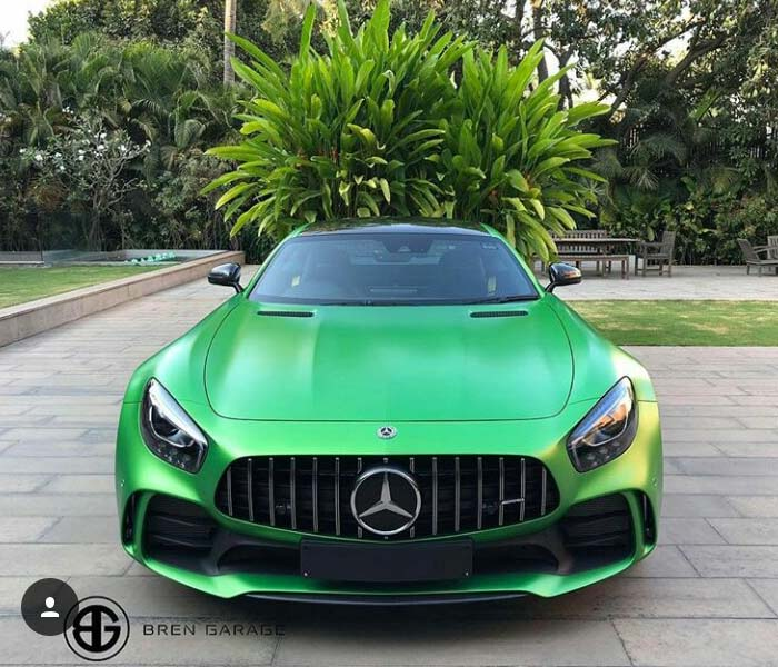 Green Hell Magno Mercedes-AMG GT R Lands In Bengaluru