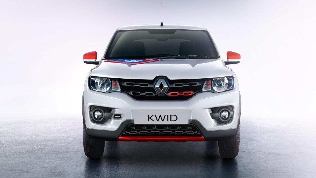 Renault-Kwid-Avengers-Captain-America
