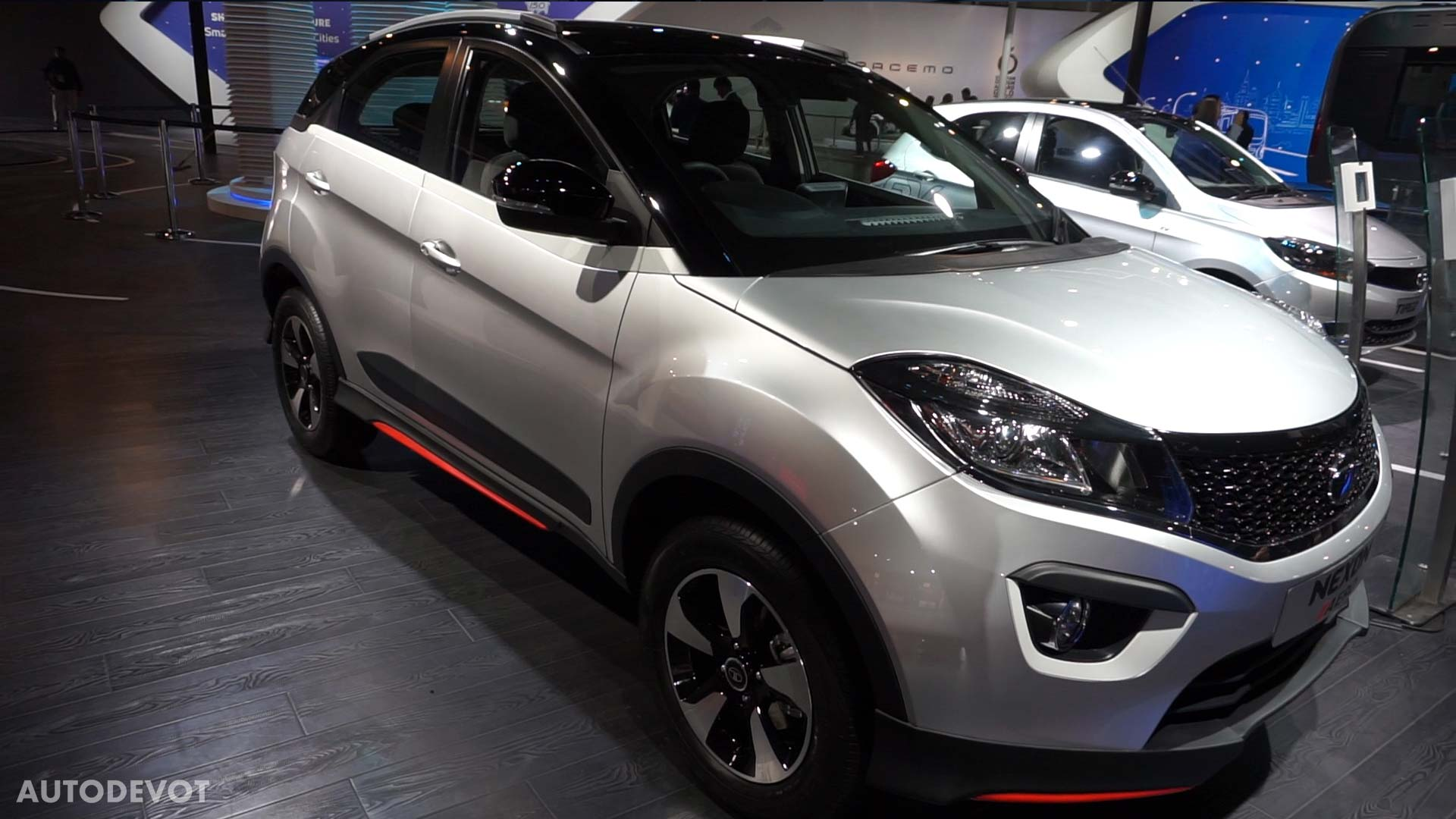 Video Tata Nexon Aero At Auto Expo 2018 Autodevot