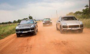 2018-Porsche-Cayenne-E-Hybrid-testing
