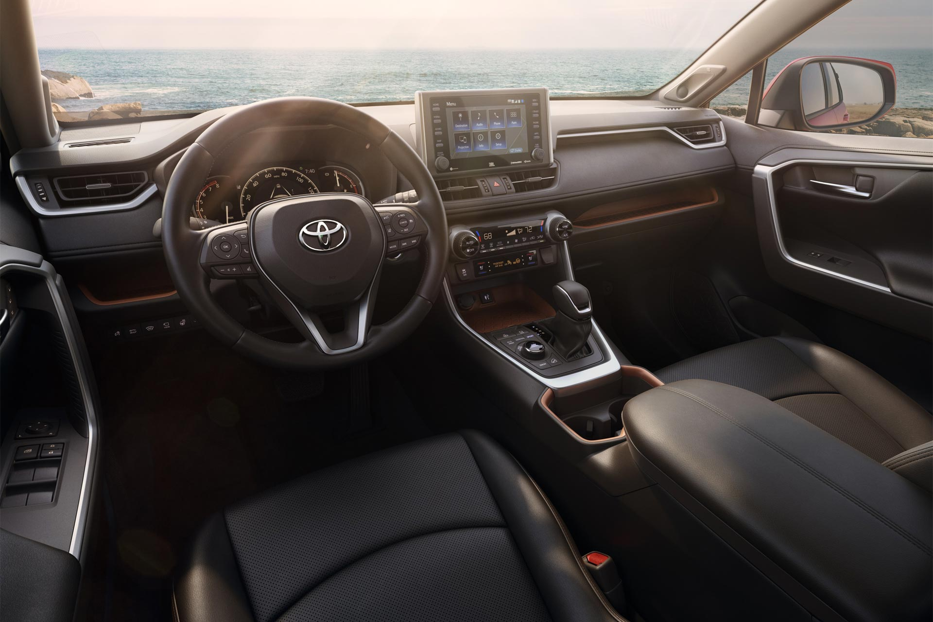 5th-generation-2019-Toyota-RAV4-interior