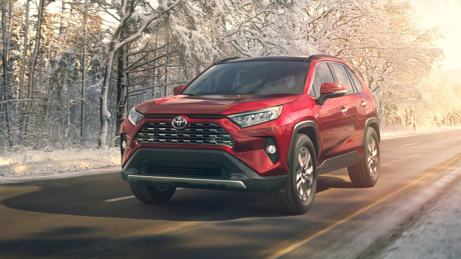 2019 toyota rav4 debuts in new york autodevot. Black Bedroom Furniture Sets. Home Design Ideas
