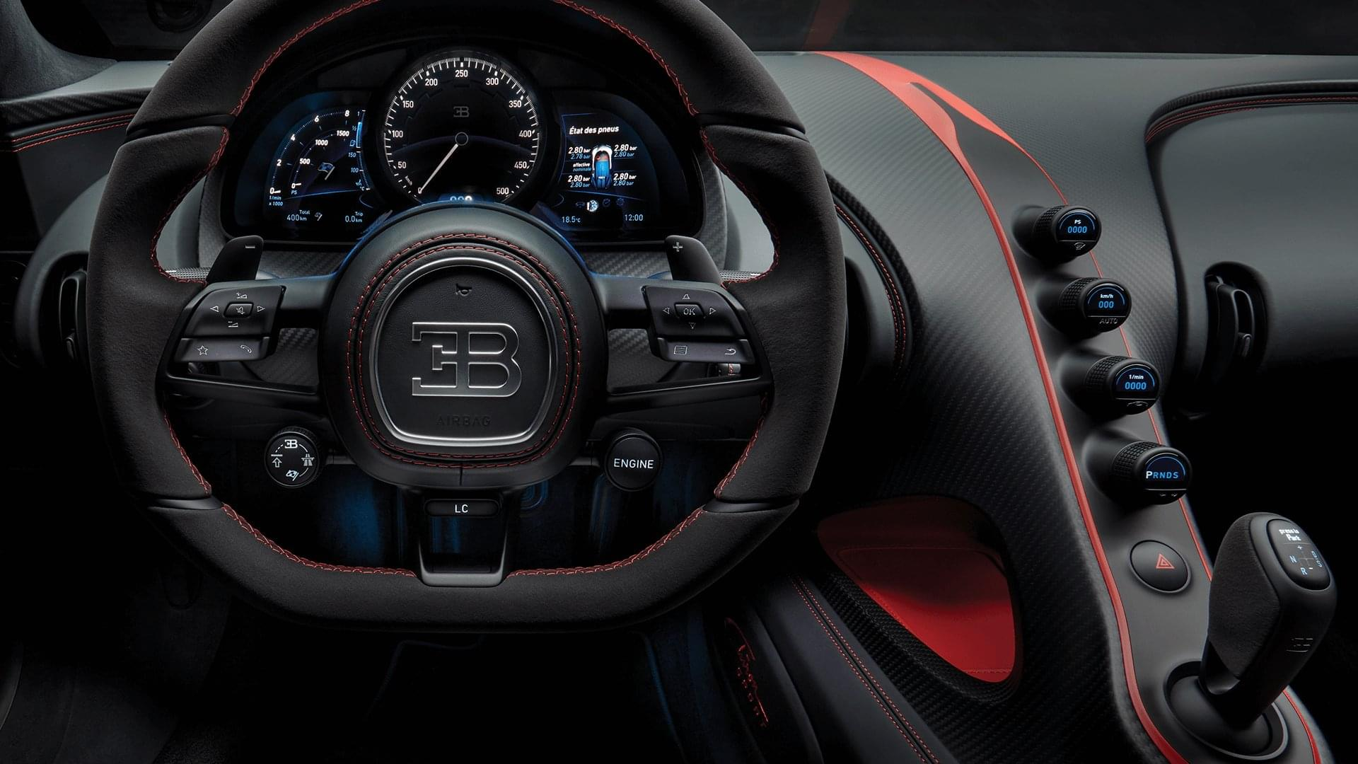 Bugatti Chiron Sport Interior 2