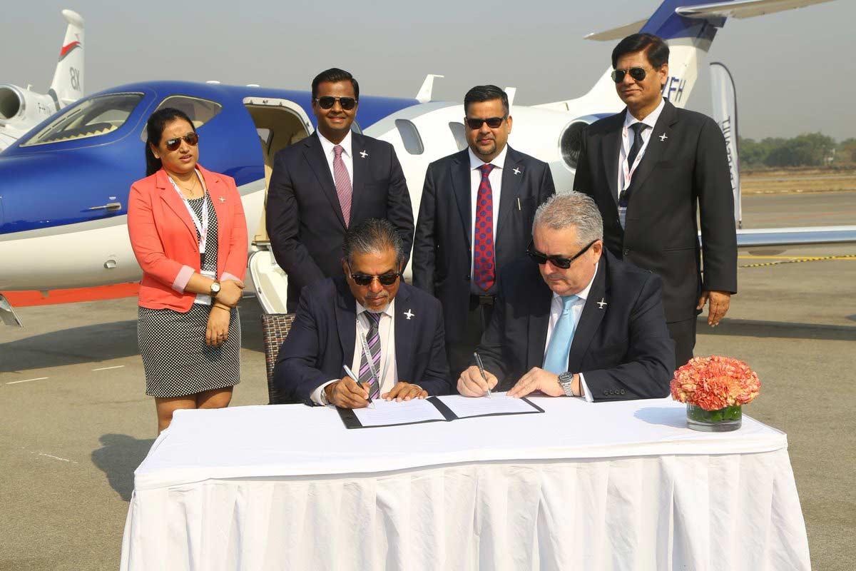 Honda Aircraft Company expands HondaJet sales to India
