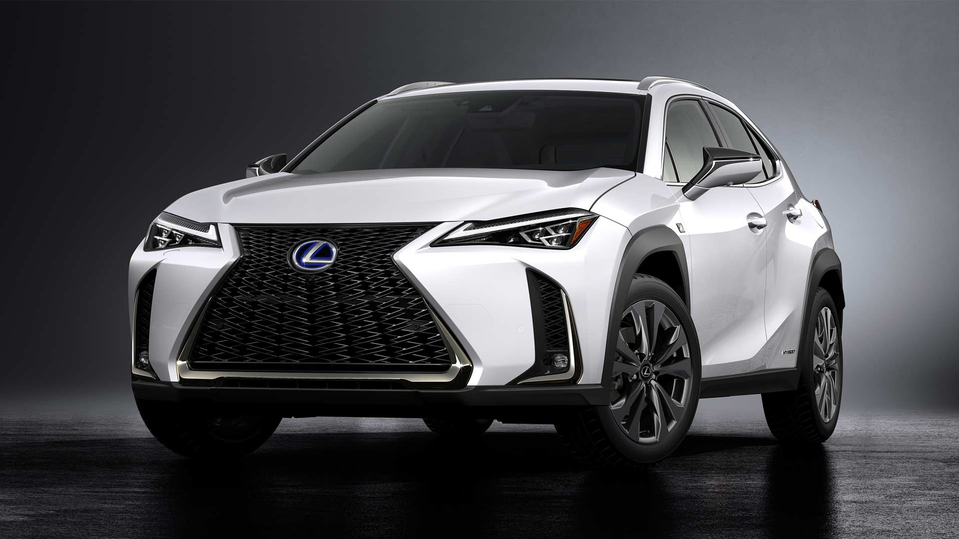 lexus ux compact crossover debuts in geneva autodevot. Black Bedroom Furniture Sets. Home Design Ideas