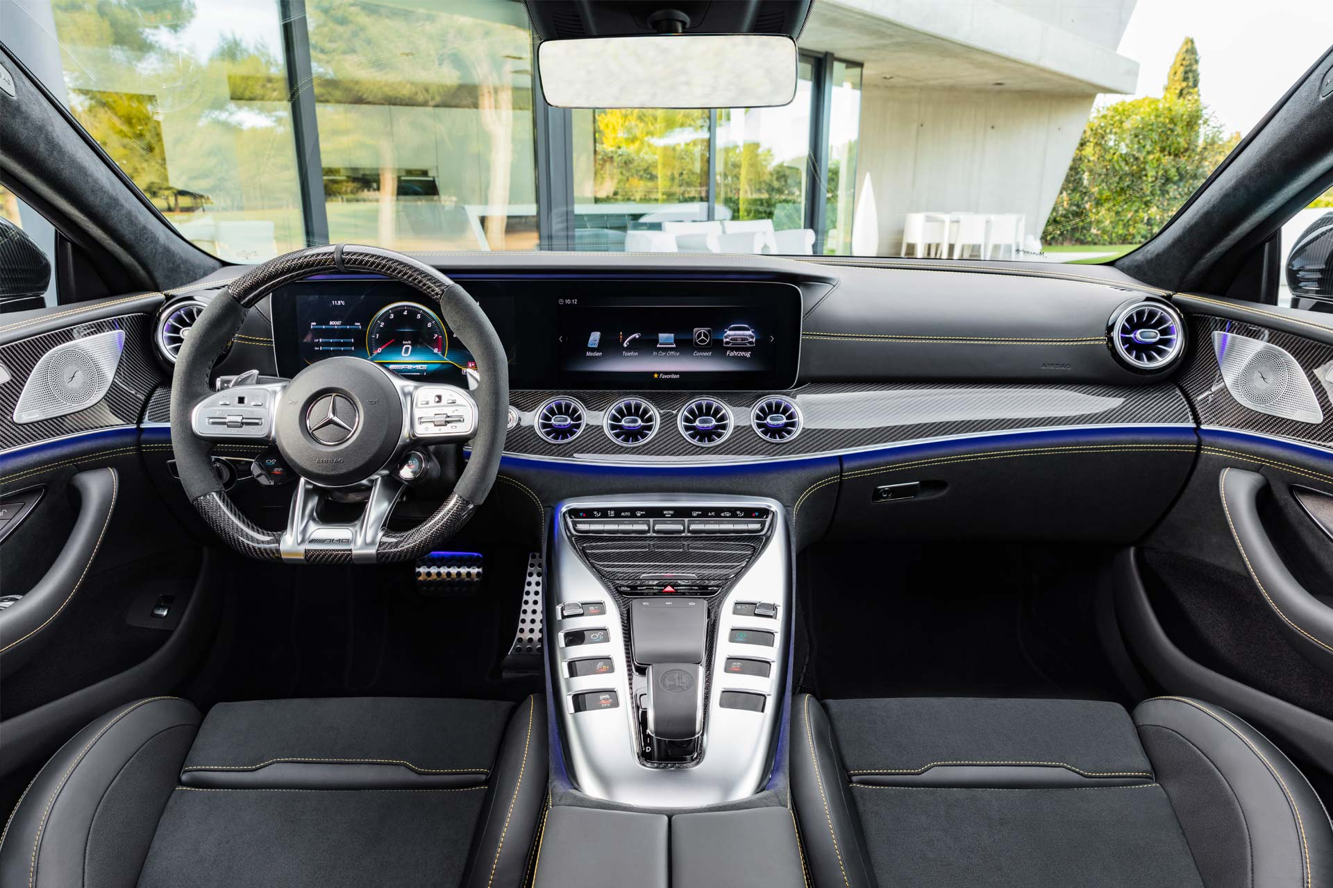 Mercedes-AMG-GT-4-Door-Coupe-Interior