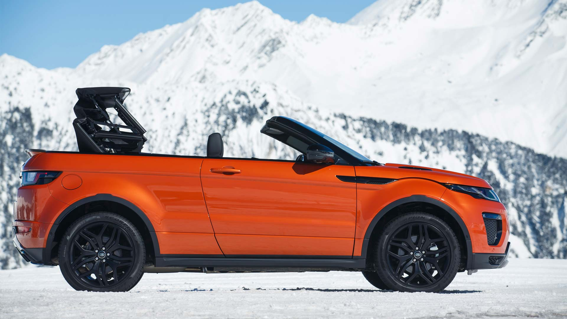 Range Rover Evoque Convertible Launched At Rs 69 53 Lakh