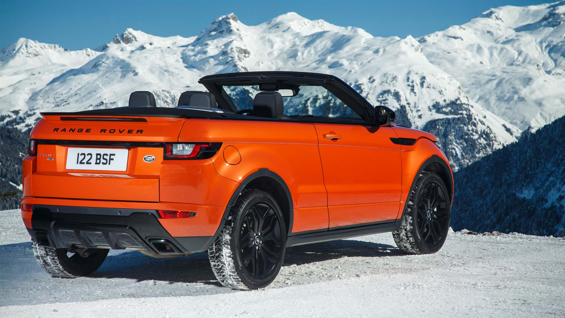 range rover evoque convertible launched at rs lakh autodevot. Black Bedroom Furniture Sets. Home Design Ideas