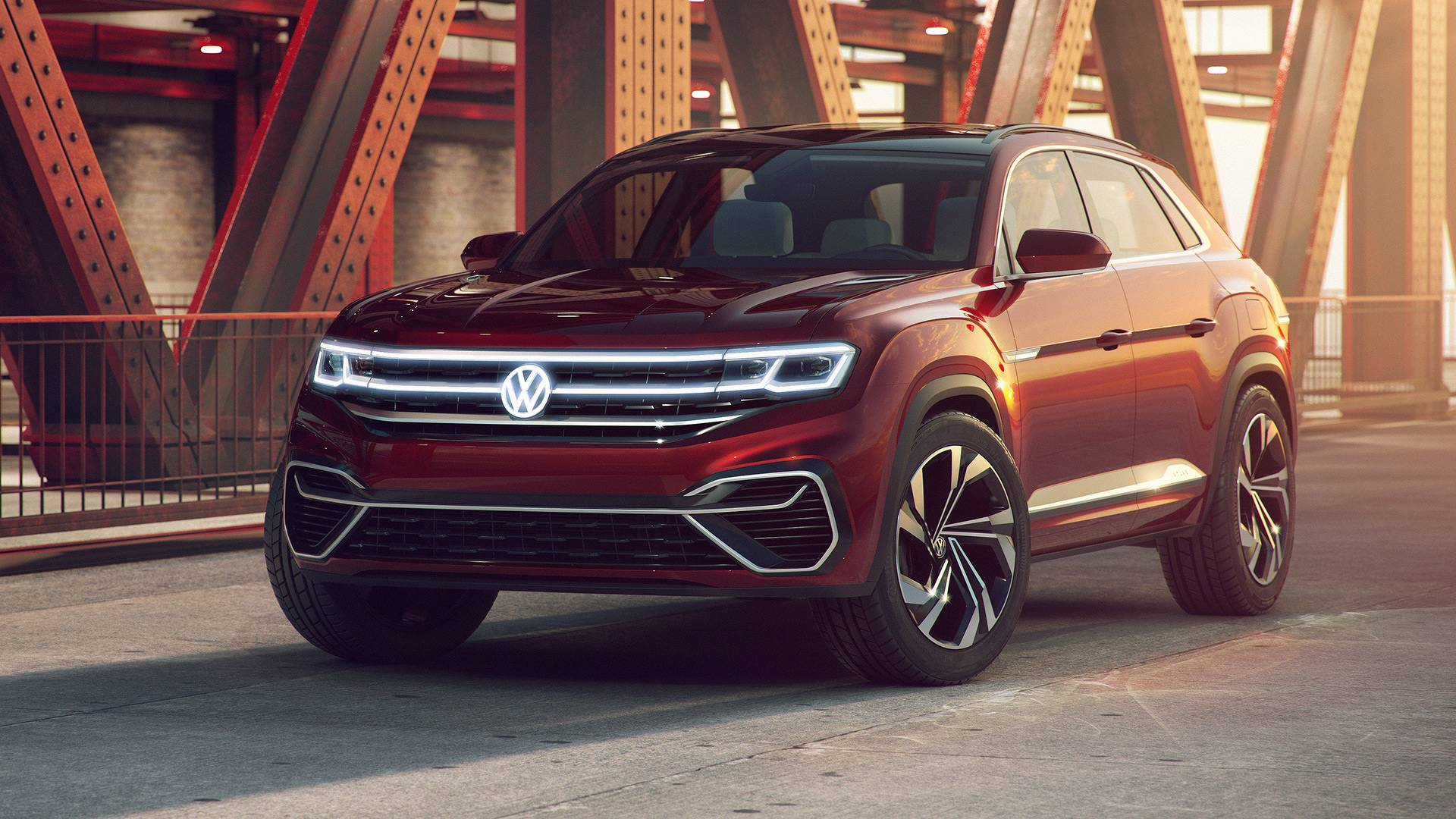 Volkswagen Atlas Cross Sport Concept Revealed Autodevot