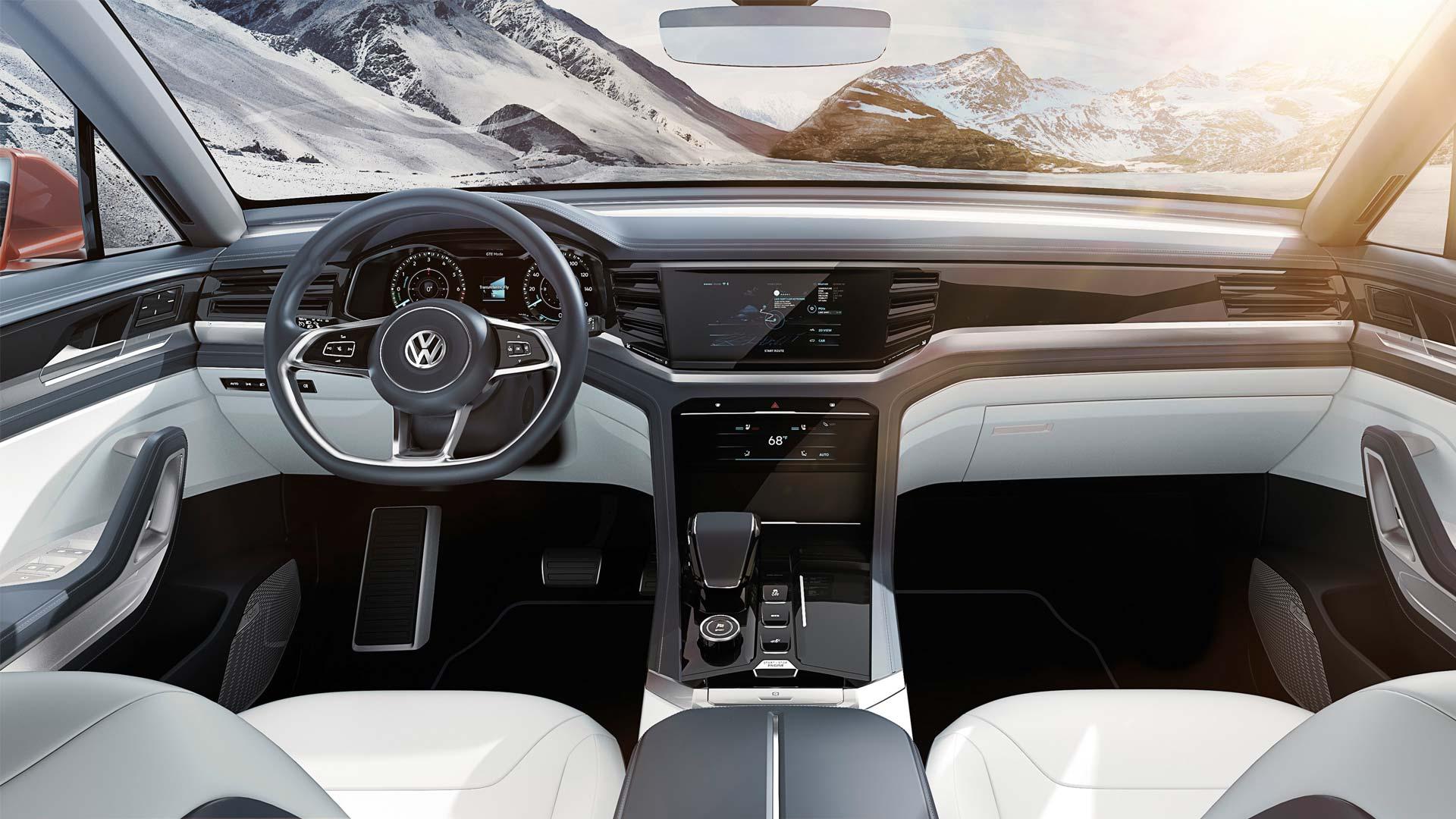 Volkswagen Atlas Cross Sport concept interior