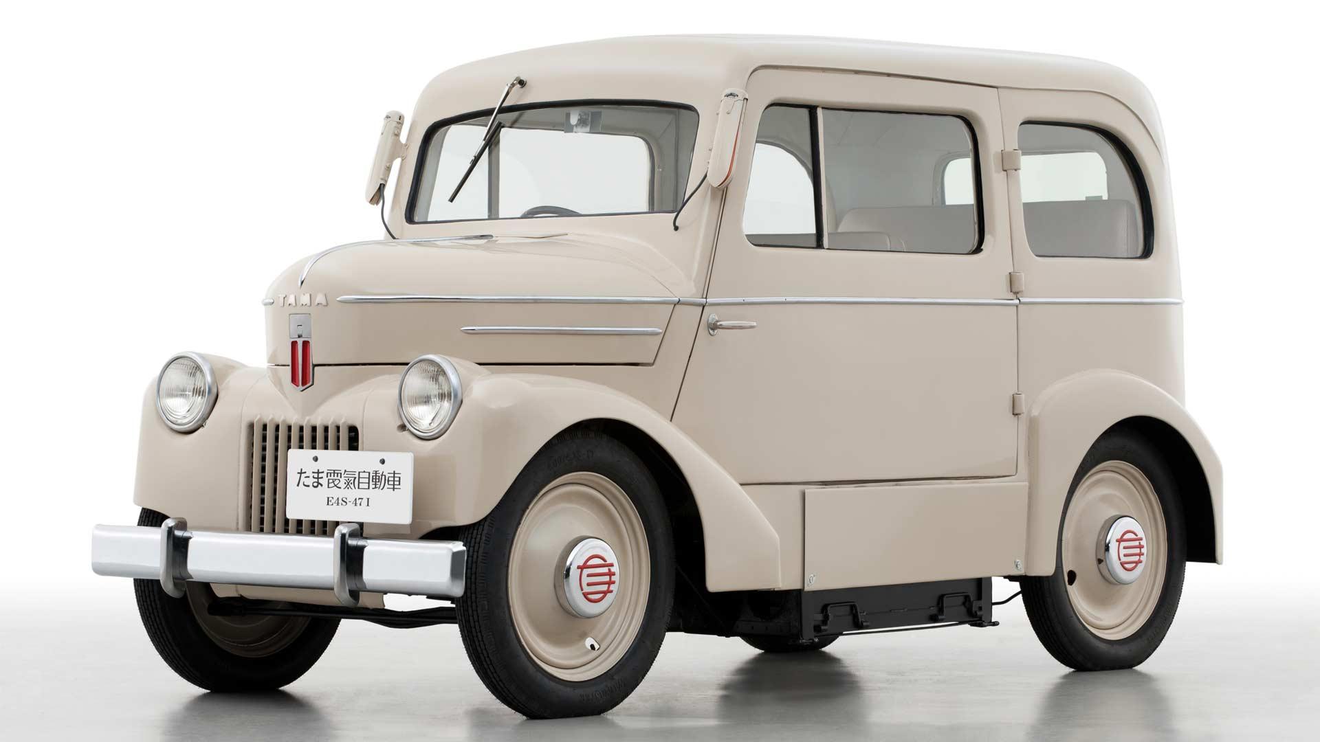 1947-Nissan-Tama-electric-vehicle