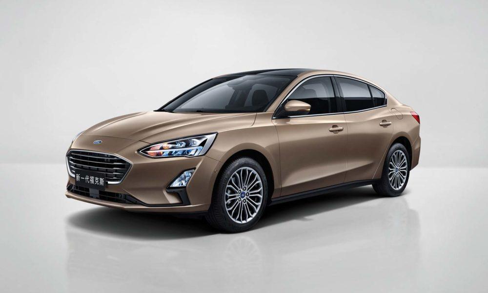 2019-4th-generation-Ford-Focus-4-door-sedan-Asia
