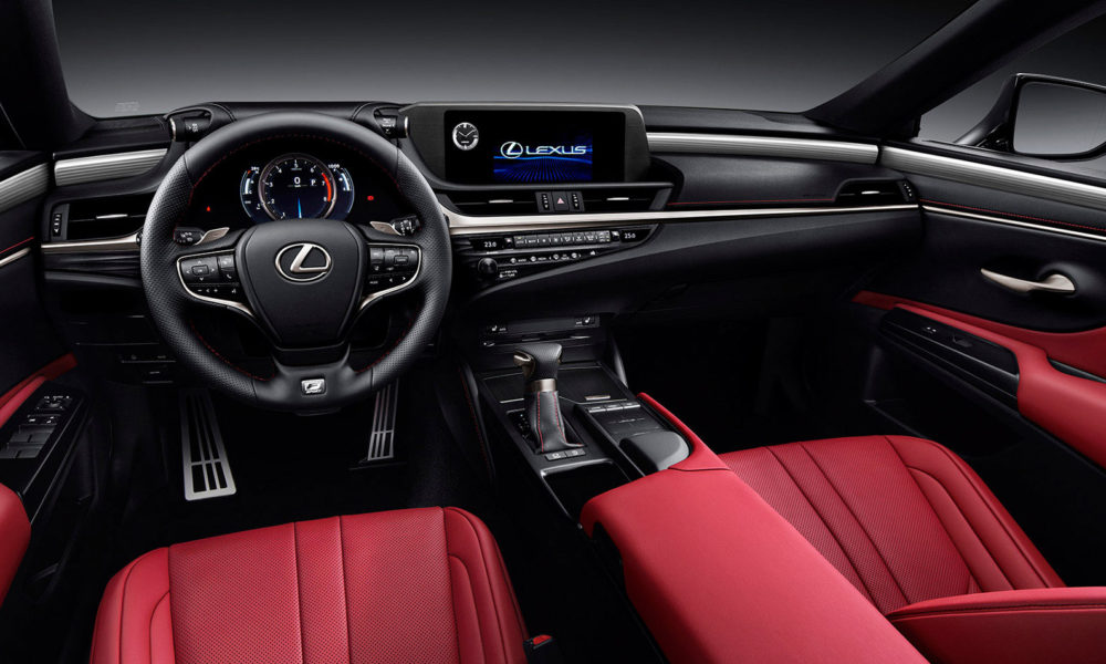 2019-7th-generation-Lexus-ES-260-F-Sport-interior