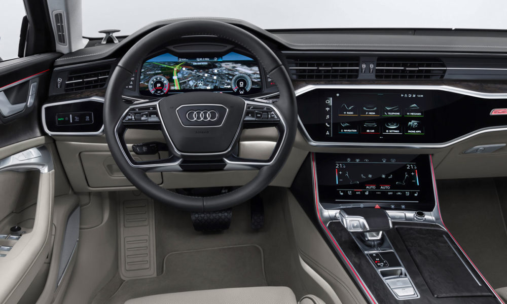 8th-generation-2018-Audi-A6-Avant-interior