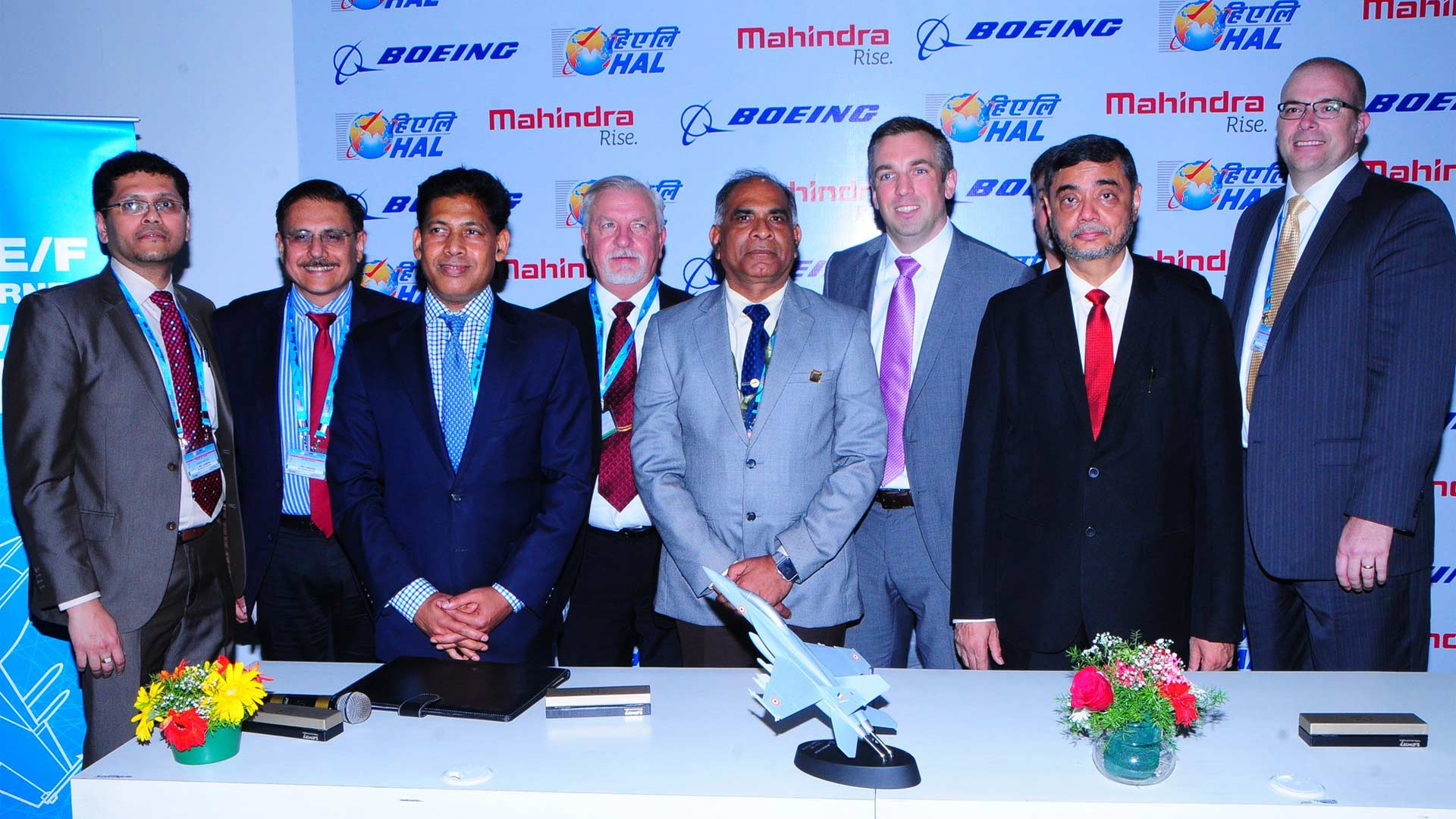 Boeing-Partners-with-HAL-and-Mahindra-for-FA-18-Super-Hornet-India