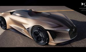 DS X E-Tense electric hypercar concept