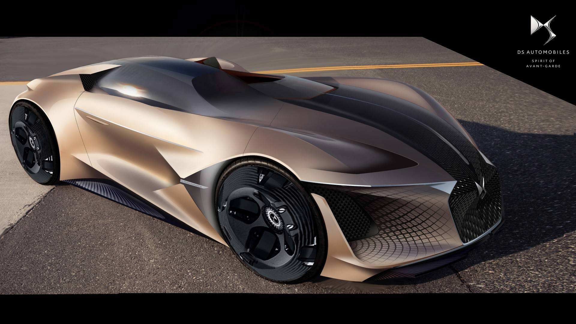 Ds Imagines X E Tense Electric Hypercar For 2035 Autodevot