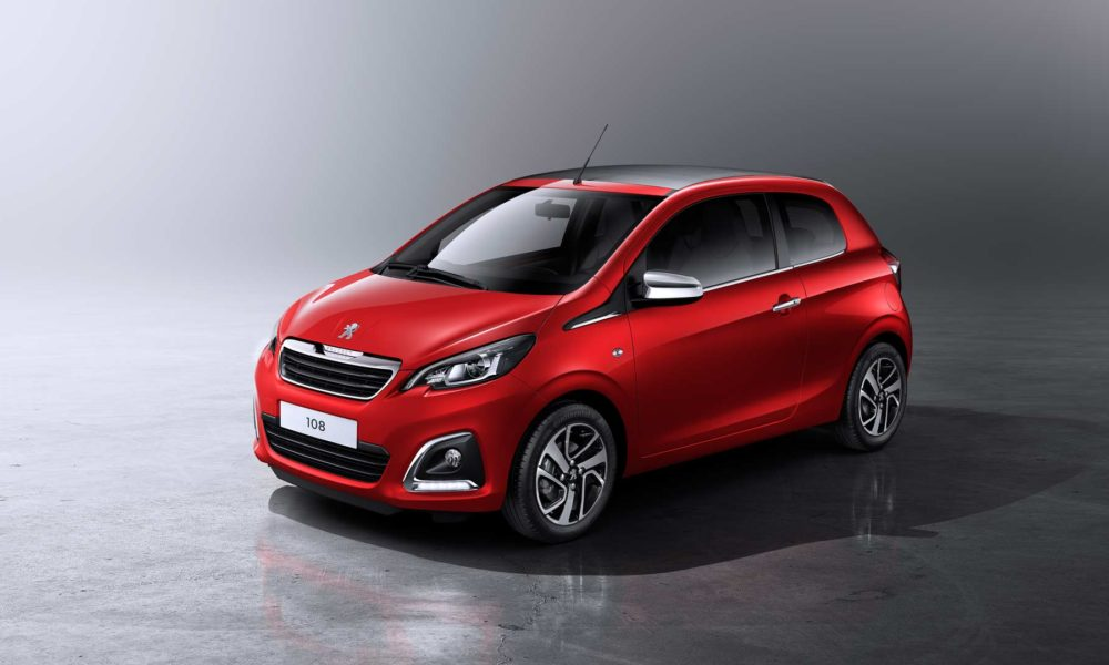 peugeot 108 gets more power colours and added features autodevot. Black Bedroom Furniture Sets. Home Design Ideas