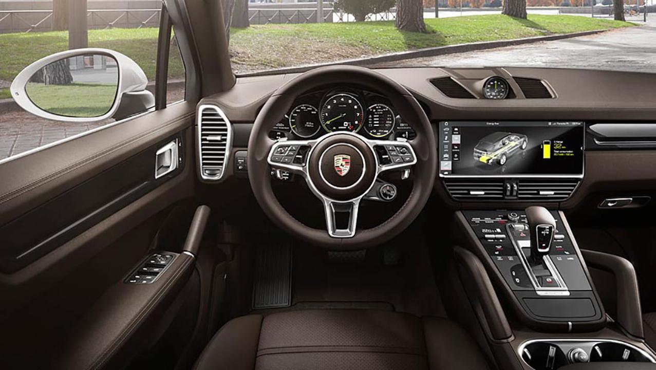 2018 Porsche Cayenne E-Hybrid Interior