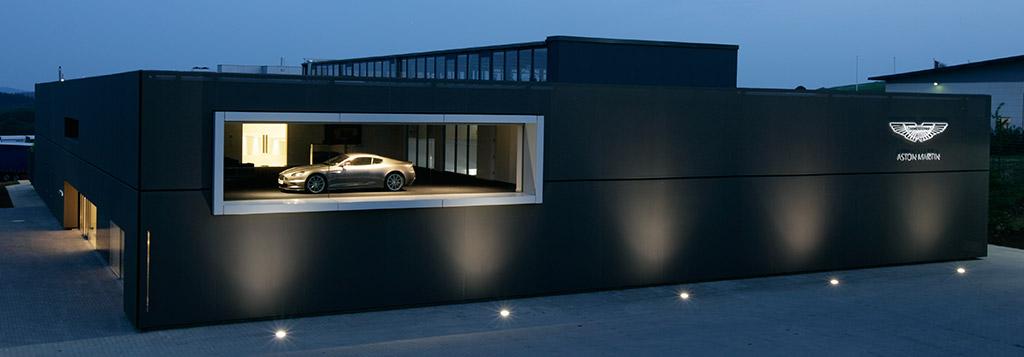 Aston Martin test centre Nürburgring circuit