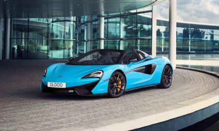 McLaren 15,000th car 570S Spider