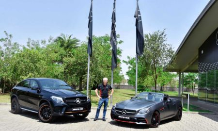 Mercedes-AMG GLE 43 4MATIC Coupe OrangeArt and SLC 43 RedArt Editions