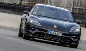 Porsche-Mission-E-prototype-test-drive-Mark-Webber