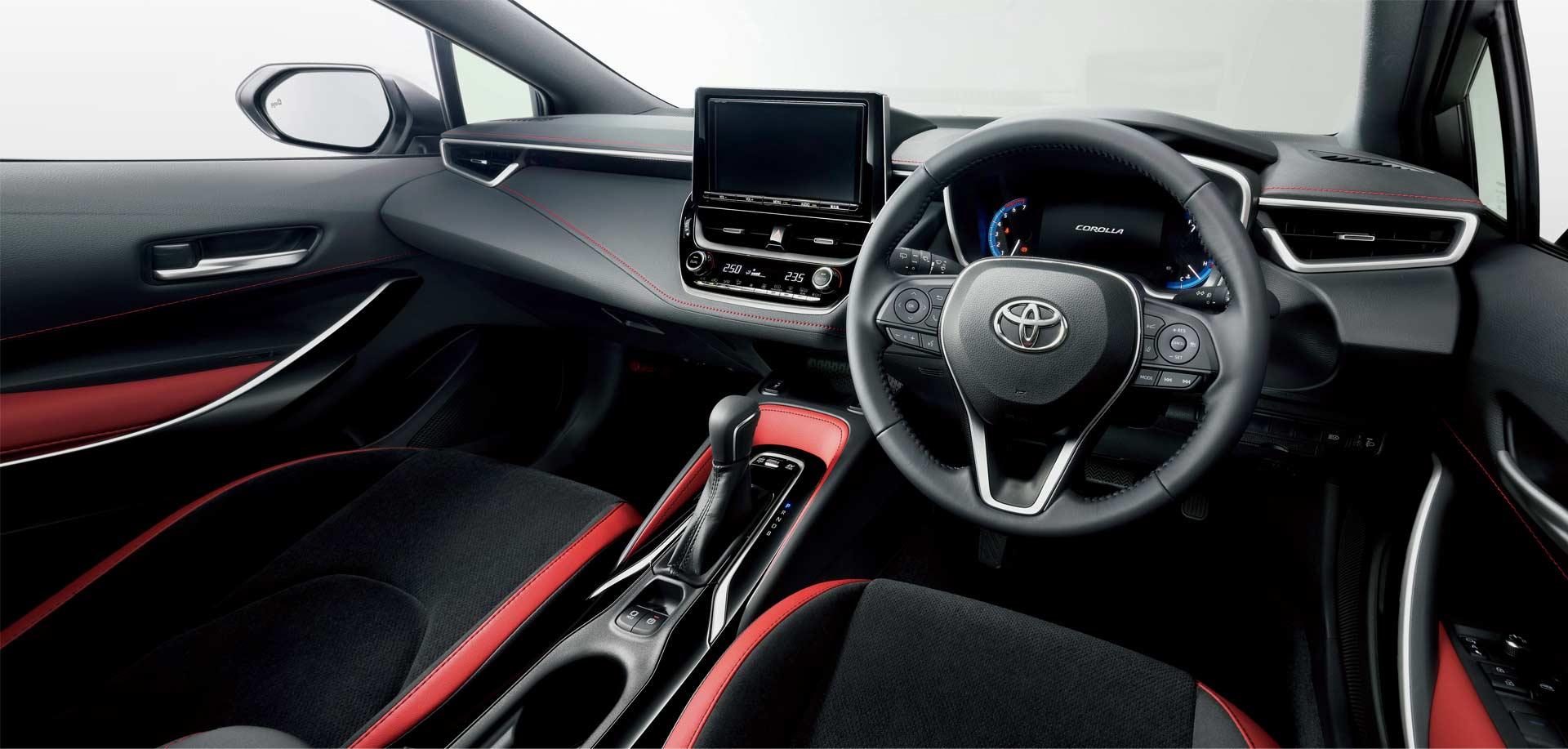 2018 Corolla Sport Hatchback Interior