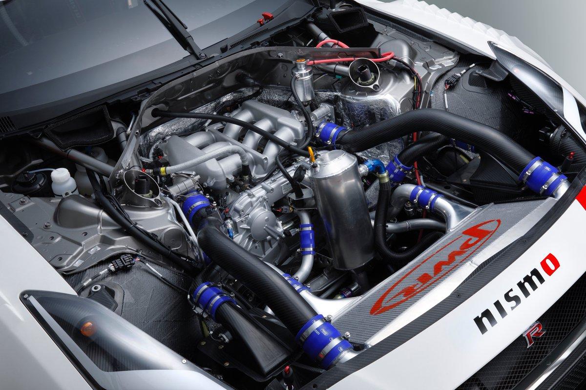 2018 Nissan GT-R NISMO GT3 engine