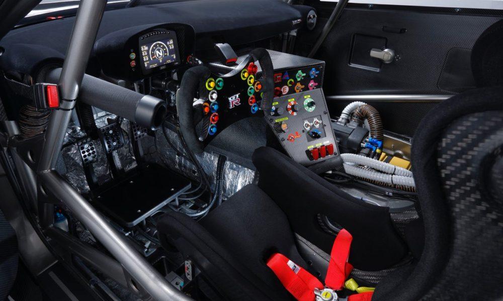 2018 Nissan GT-R NISMO GT3 interior