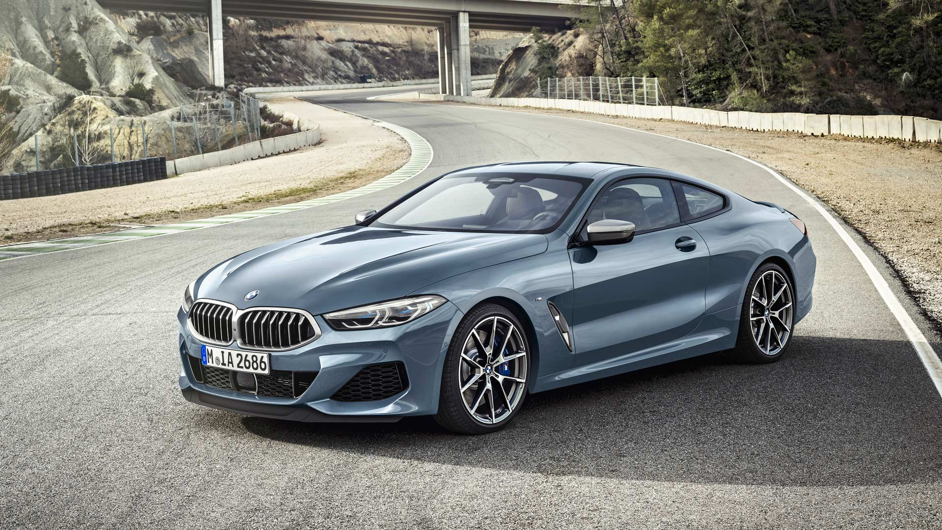 Bmw M8 Le Mans >> 2019 BMW 8 Series Coupe debuts with 530 hp V8 - Autodevot
