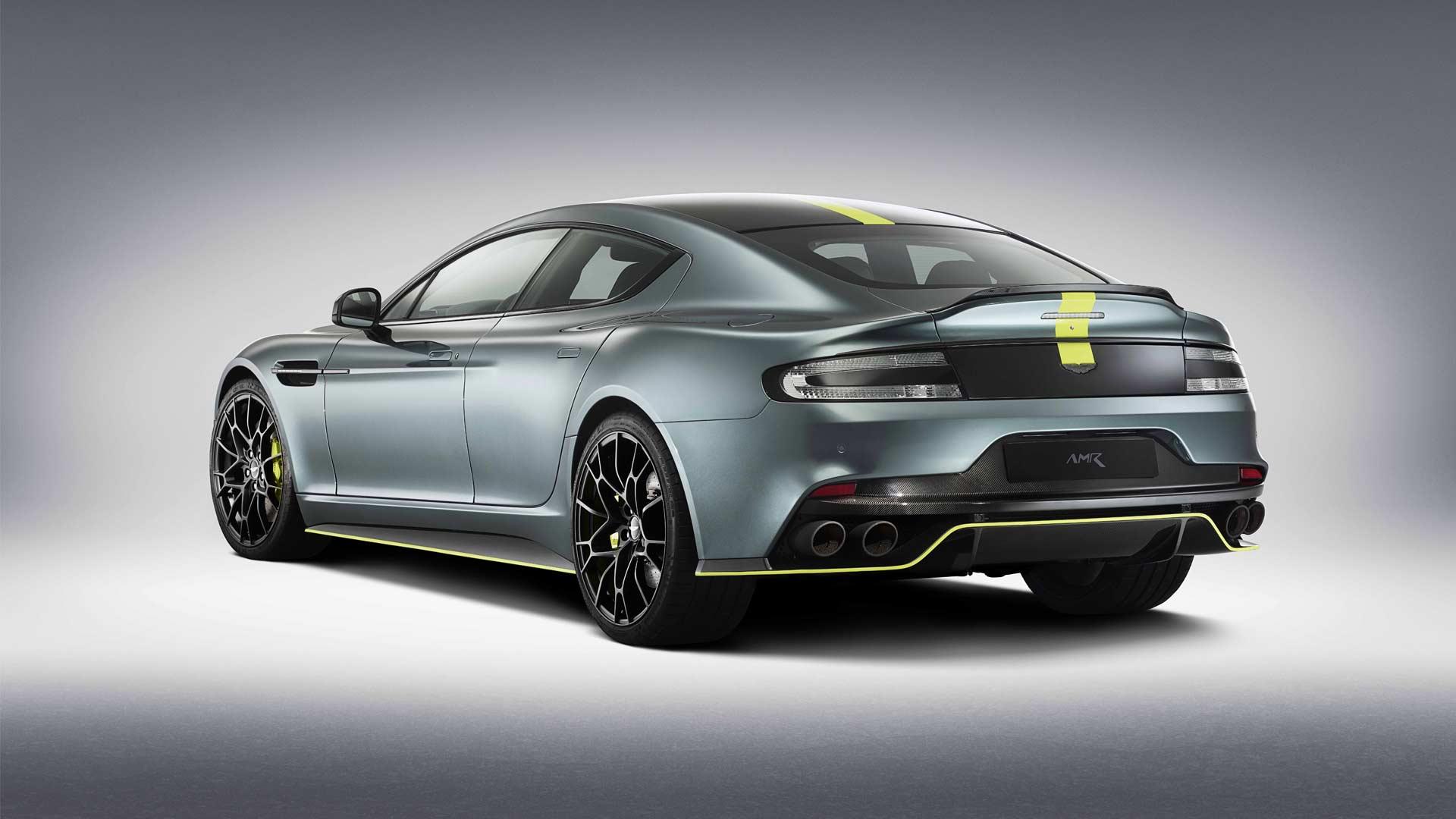 Aston Martin Rapide Amr Production Version Unveiled Autodevot