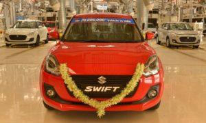 Maruti-Suzuki-20-Millionth-model-Swift